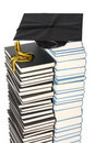 Free Graduation Cap And Books Royalty Free Stock Images - 4763639