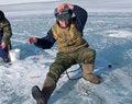 Free Winter Fishing 23 Royalty Free Stock Photo - 4766425