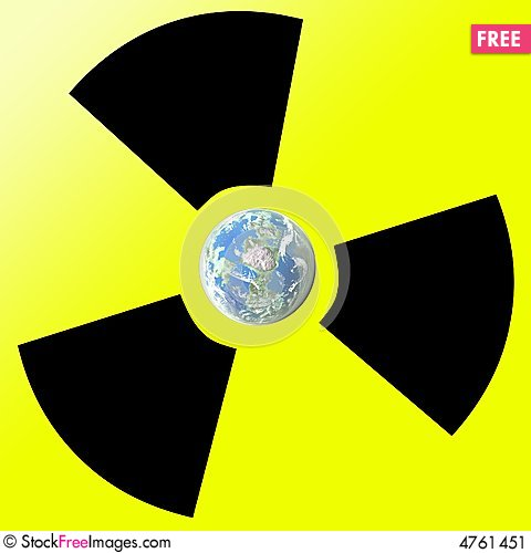 Free Earth And Radiation Stock Image - 4761451