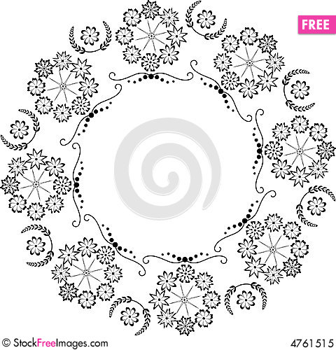 Free Circle Element Royalty Free Stock Photo - 4761515