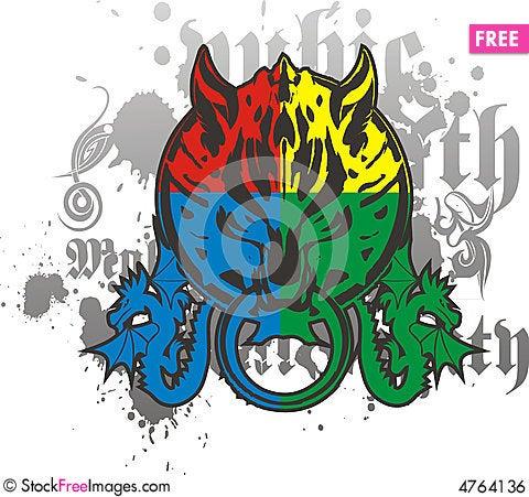 Free Abstract Logos Royalty Free Stock Image - 4764136