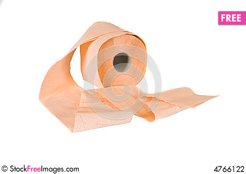 Free Roll Of Toilet Paper Stock Photography - 4766122