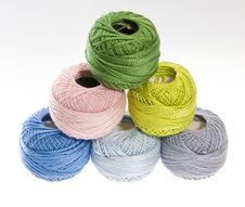 Free Wool Balls1 Royalty Free Stock Photos - 4760168