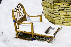Sledges Royalty Free Stock Images
