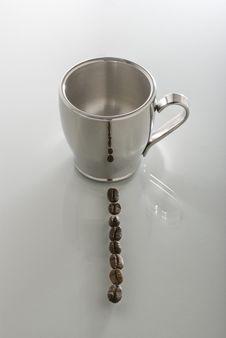 Espresso Row Royalty Free Stock Photo