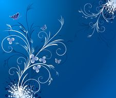 Free Floral  Artistic Vector Design Royalty Free Stock Photo - 4760475