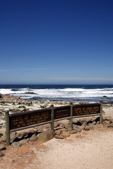 Free Cape Of Good Hope Signpost Royalty Free Stock Photos - 4761828