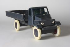 Retro Toy Truck Royalty Free Stock Photography