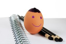 Free Smiley Egg Royalty Free Stock Image - 4762386