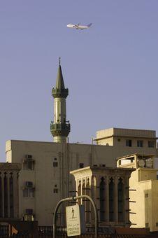 United Arab Emirates: Dubai Mosque  In  Deira Stock Images