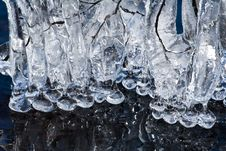 Free Icicles On A Lake Royalty Free Stock Photo - 4762765