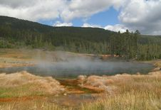 Free Hot Lake In Yellowstone NP Stock Images - 4763084