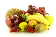 Free Various Of Fresh Ripe Juicy Fruits Royalty Free Stock Photography - 4763197