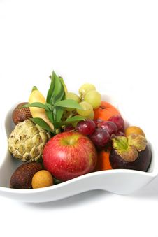 Free Fruits On Plate Stock Photos - 4763573
