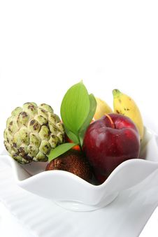 Free Fruits On Plate Royalty Free Stock Photos - 4763578