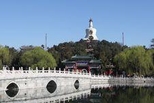 Free Beijing China — Beihai Park Royalty Free Stock Photos - 4763688