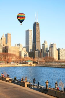 Free The Chicago Skyline Royalty Free Stock Photography - 4763937