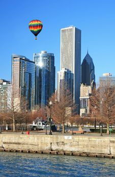 Free The Chicago Skyline Royalty Free Stock Image - 4763946