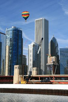 Free The Chicago Skyline Stock Photography - 4763952