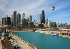 Free The Chicago Skyline Stock Photos - 4764063