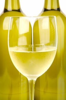 Free Bottles Of Wine Royalty Free Stock Photo - 4764755