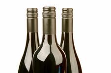 Free Bottles Of Wine Royalty Free Stock Photography - 4764777