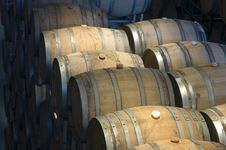Free Barrels In The Winery Stock Photo - 4764950