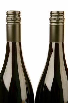 Free Bottles Of Wine Royalty Free Stock Photos - 4765038