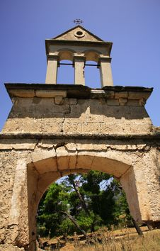 Free Sassia Monastery Bell Tower Stock Images - 4765434