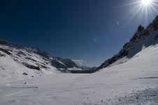 Free Alagna Ski Day Stock Image - 4765621