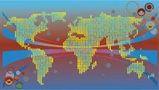 Free Communicational Map Stock Photos - 4765643