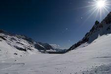 Free Alagna Ski Day Stock Photography - 4765782