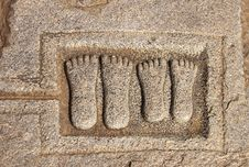 Free Ancient Carving In A Granite Rock Stock Photography - 4765812