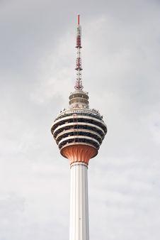 Menara Tower, Kuala Lumpur Stock Image