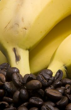 Free Bananas And Coffee Stock Photography - 4765882