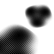 Free Abstract Halftone Background. Royalty Free Stock Image - 4766516