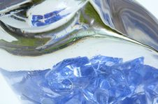 Free Blue Ice Royalty Free Stock Photography - 4767067
