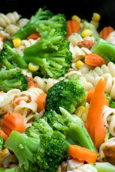 Free Close-up Of Cooking Vegetables Stock Photography - 4767692
