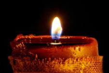 Free Glowing Candle Royalty Free Stock Photos - 4767878