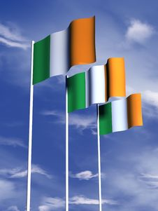 Free Irish Flag Stock Images - 4767984