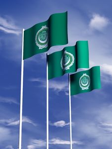 Free Arab League Flag Stock Images - 4767994