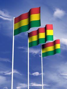 Free Bolivian Flag Stock Image - 4768011