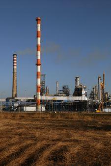 Free Oil Refinery Royalty Free Stock Photos - 4768348