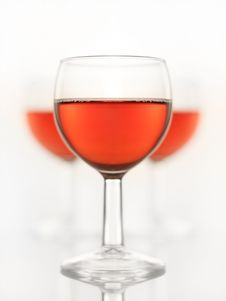 Free Red Wine Glasses Stock Image - 4769011