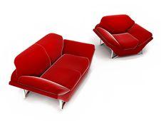 Free Red Set Stock Image - 4769021