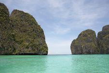 Free Maya Bay Royalty Free Stock Photography - 4769127
