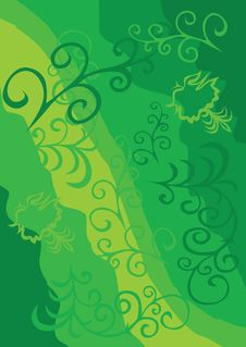 Free Green Background Royalty Free Stock Images - 4769219