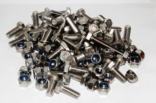 Free A Lot Of Nuts And Bolts Stock Images - 4769654