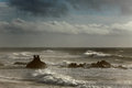 Free Autumn Seascape Royalty Free Stock Image - 47611156