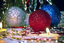 New Year Decor Royalty Free Stock Photography